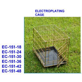 Gold Fold-Down Crate -EC-151
