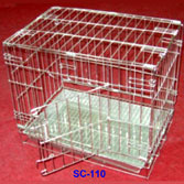Foldable Dog Cage - SC-110
